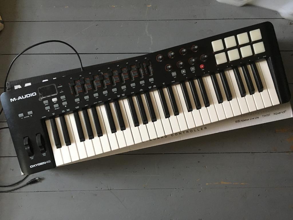 M-AUDIO - oxygen49 - usb midi keyboard controller