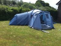 Vango colorado 800 dlx tent camping sleeps 8