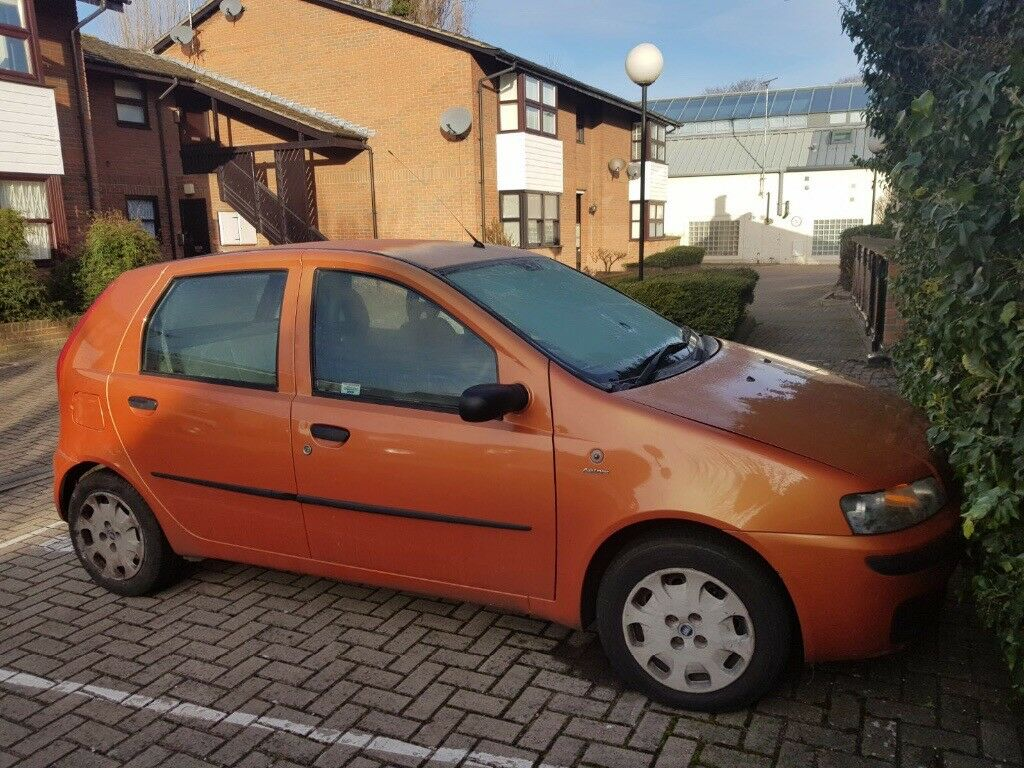 fiat punto 2002 full working condition for sale in west london london gumtree. Black Bedroom Furniture Sets. Home Design Ideas