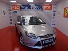 Ford Focus ZETEC NAVIGATOR ECONETIC TDCI (FREE MOT'S AS LONG AS YOU OWN THE CAR!!) (silver) 2014