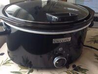 Crock-Pot Hinged Lid Slow Cooker
