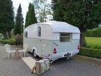 Vintage caravan castleton 1960's retro