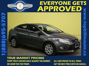 2012 Ford Focus Only 54K, Bluetooth, $70 Bi-weekly