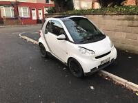 2010 59reg Smart Four Two 800cc Turbo Diesel White Automatic New Shape private plate