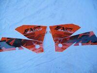KTM exc Rad Wing Graphics set,new,fit all models `04-07.