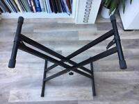 Keyboard stand adjustable height nearly new