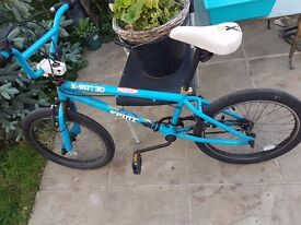 BMX, Blue, 360* steering