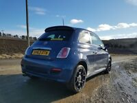2013 (63 plate) Fiat 500 S 1.2 Petrol, Manual, Only 30,600 miles