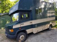 Mercedes 609 D 3.5 tonne Horse Box