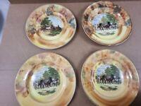 4 x Gypsy Fair Plates - Price all four -