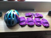 Child's cycle helmet and protective wear
