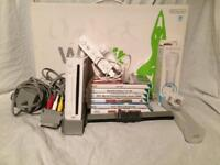 Nintendo Wii With Board And WiiMotion Plus.