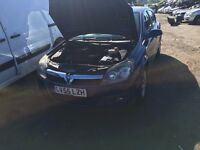 2005 VAUXHALL ASTRA DESIGN 16V TWINPORT (MANUAL PETROL- FOR PARTS ONLY