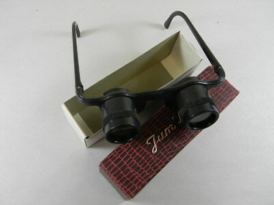 VINTAGE TOY FRENCH PLASTIC ADJUSTABLE GLASSES MADE IN FRANCE IN THE (Adjust Plastic Glasses)