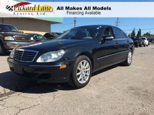 2006 Mercedes-Benz S-Class LEATHER INTERIOR!! SUNROOF!! HEATED S