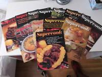 Vintage Supercook Encyclopaedia of world cooking in weekly parts from the 1970's