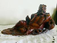 Japanese Cherrywood carving