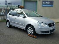 2005 55 VOLKSWAGEN POLO 1.4 SE 5 DOOR MANUAL PETROL IN SILVER SERVICE HISTORY