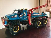 Lego technic tow truck - completed