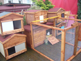 """cat kennel 24x24""""from £35.00 in \outside 7days 07889465089 near hampden park worth a view"""