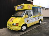 Ford Transit Soft Ice Cream Van Carpigiani Icecream Machine - N Reg - SWB - MOT'd