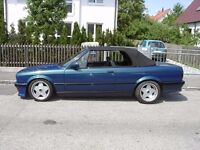 Borbet A deep dish alloy wheels, 4x100, staggered, BMW e30, Vw golf MK 1 2 3,