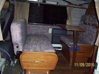 Campervan sofabed with base ideal for camper conversion