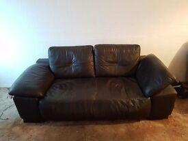 Sofa for sale. I'm moving Saturday and I don't have room for it. £20.00 or nearest offer.