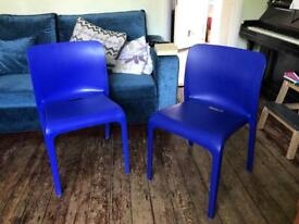 Pop chairs - Blue