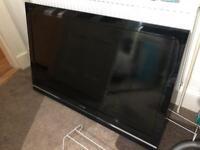 52 inch Sony Bravia Plasma Tv Flatscreen with gloss black stand