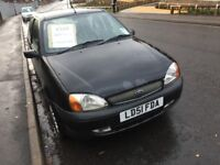 Ford Fiesta with Leather seats , CD and 12 months MOT
