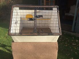 Dog Cage - Lintran double dog cage
