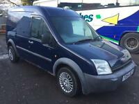 Ford transit connect 54 plate lwb high 130,000 spares or repair