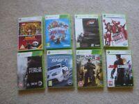 Job Lot of Xbox 360 Games x 8
