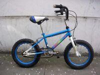 Kids Bike, Bronx Dinosaur, Blue, 14 inch Wheels for Kids 4+ Years, JUST SERVICED / CHEAP PRICE!!! !!