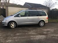 Seat Alhambra 1.9 tdi pd se MOT TILL JUNE 2 remote keys 2 previous owners