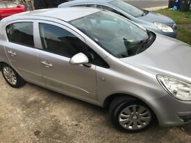 Vauxall corsa low mileage 73580 with built in bicycle rack