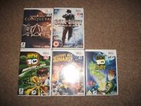 NINTENDO WII AND DS GAMES