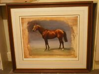 Limited edition Race horse print