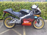 2003 APRILIA RS125 FULL POWER , VERY VERY TIDY BIKE LOW MILEAGE