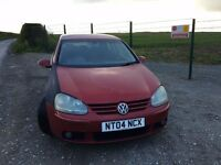 VW GOLF MK5 140 GT TDI - SPARES OR REPAIR