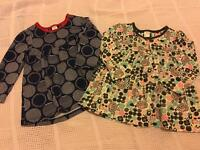 Two Baby Girls Dresses, 12-18mths, Mini Club by Boots