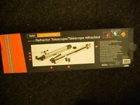 A REFACTOR TELESCOPE 60X/120 BY VIVITAR UNUSED STILL IN BOX COST £29.99