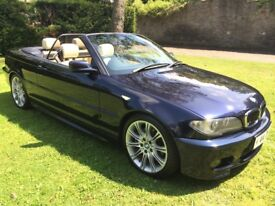 BMW 330 Ci Sport Convertible, Individual, BRAND NEW MOT, Full Serv Hist, ONLY 83k Miles & Hard Top