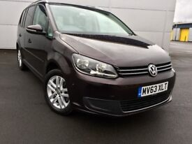 Volkswagen Touran 1.6 TDI Bluemotion SE DSG 7 Seater Buy For £150 pm