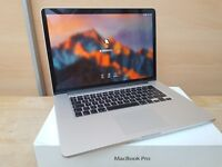 "Apple MacBook Pro Retina 15"" - Quad Core i7 - 512 GB SSD - Dual Graphics - Boxed"
