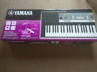 Yamaha YPT-240 Keyboard for sale. 2 months old. Perfect condition. Collection only. £70