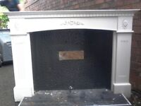 Fire Place Surround £35 Including Mantlepiece and Strong Metal Backing Bit. Delivered To You Today