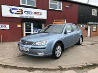 2005 FORD MONDEO GHIA AUTO 2.0 DIESEL*TOW BAR*2 KEYS*1 YEAR AA BREAKDOWN COVER*PART SERVICE HISTORY*