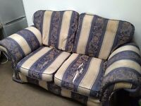Very comfortable 2 seather sofa needs TLC, So comfortable, love it more than my new one